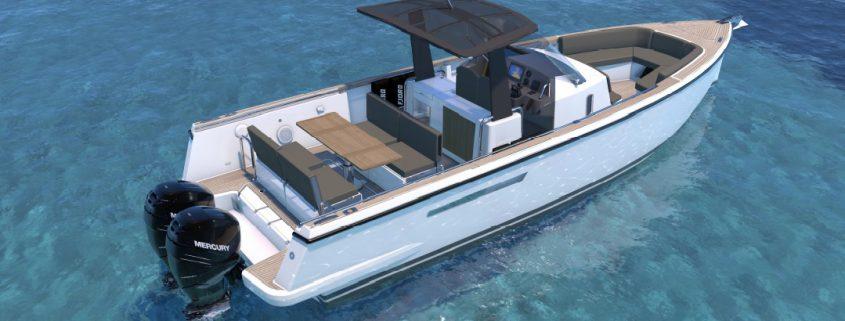 Nouveau Fjord 36 Xpress Hors Bord présenté au salon de cannes 2017